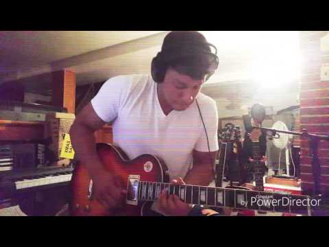 Chris brown - new flame (electric guitar cover)