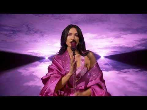 Dua Lipa - Levitating ft. DaBaby / Don't Start Now Live at the GRAMMY 2021 | Grammy Performance