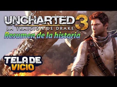 Uncharted, resumen de la historia Español (parte 3/3 La traición de Drake, remasterizada 1080p)