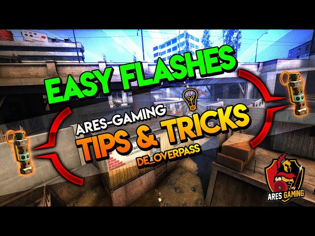Tips & tricks: DE_OVERPASS SICK FLASHES CS:GO [2019] by Ares-Gaming