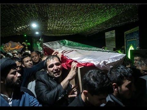 تشییع پیکر اولین شهیدان مدافع حرم ارتش