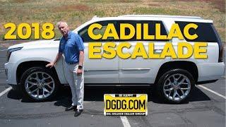 2018 Cadillac Escalade Platinum In Depth Review | DGDG.COM
