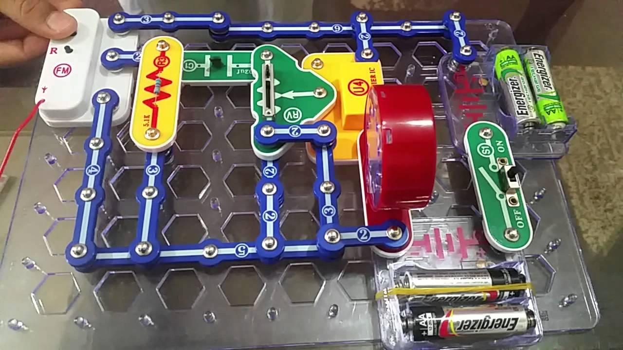 Fm Radio Circuit Using A Single Transistor Electronic Circuit
