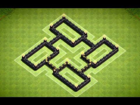 Clash of Clans - Epic Town Hall 5 Trophy Base (Quinary) Speed Build