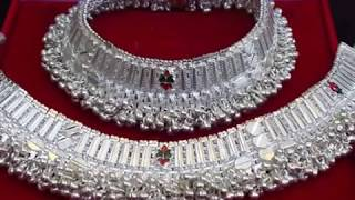 Video latest anklet designs 2018 | silver payal, anklets design for women, payal design I  चांदी के पायल download MP3, 3GP, MP4, WEBM, AVI, FLV Oktober 2018