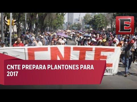 CNTE ya alista movilizaciones para 2017