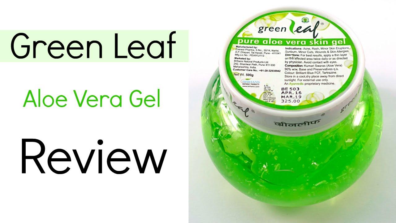 green leaf aloe vera gel review youtube. Black Bedroom Furniture Sets. Home Design Ideas