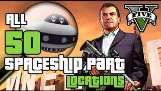 GTA 5 All Spaceship Part Locations for Space