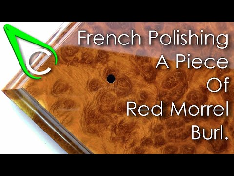 Spare Parts #14 - French Polishing A Piece Of Red Morrel Burl