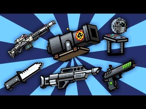 JUGANDO CON LAS ARMAS NEGRAS DE PIXEL GUN 3D | Pixel Gun 3D | enriquemovie