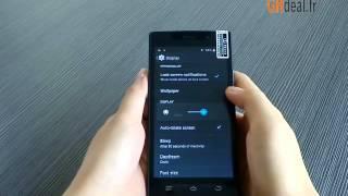 THL L969 samrtphone chinois en francais