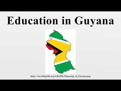 Education in Guyana