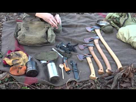 (FR) Matériel - Kit pour le Bushcraft et les Sorties en Forêt.