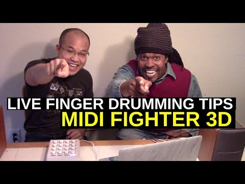 Midi Fighter 3D Tutorial | Hanoi