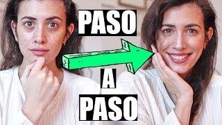 MAQUILLAJE NATURAL de Día  💄  PASO A PASO (No makeup makeup)