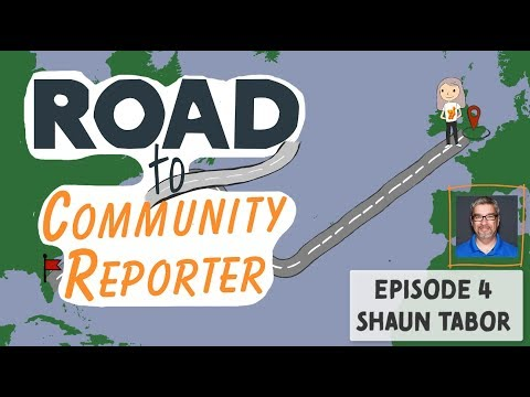 Shaun Tabor - Interview - Road To Community Reporter - Microsoft Ignite