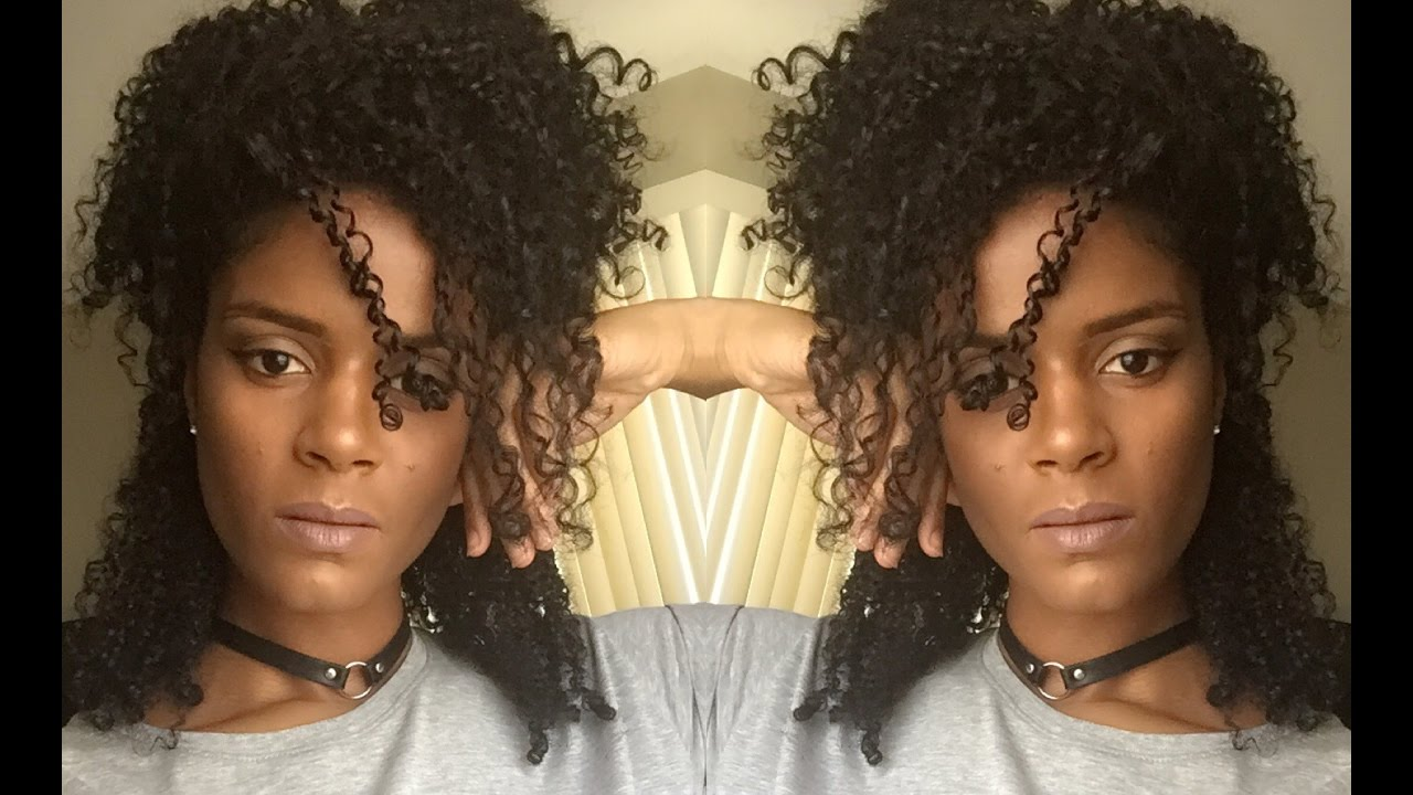 10 QUICK & EASY HAIRSTYLES FOR THICK CURLY HAIR