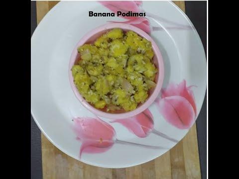 Tasty Banana Podimas   சுவையான வாழைக்காய் பொடிமாஸ்