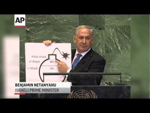Netanyahu Draws a Red Line on Iran