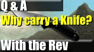 Why carry a knife? An EDC must.