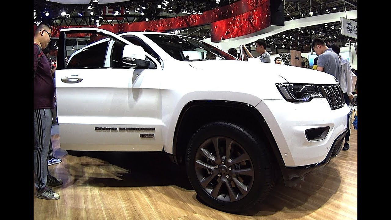 2016 2017 jeep grand cherokee 75th anniversary edition exterior and interior youtube. Black Bedroom Furniture Sets. Home Design Ideas