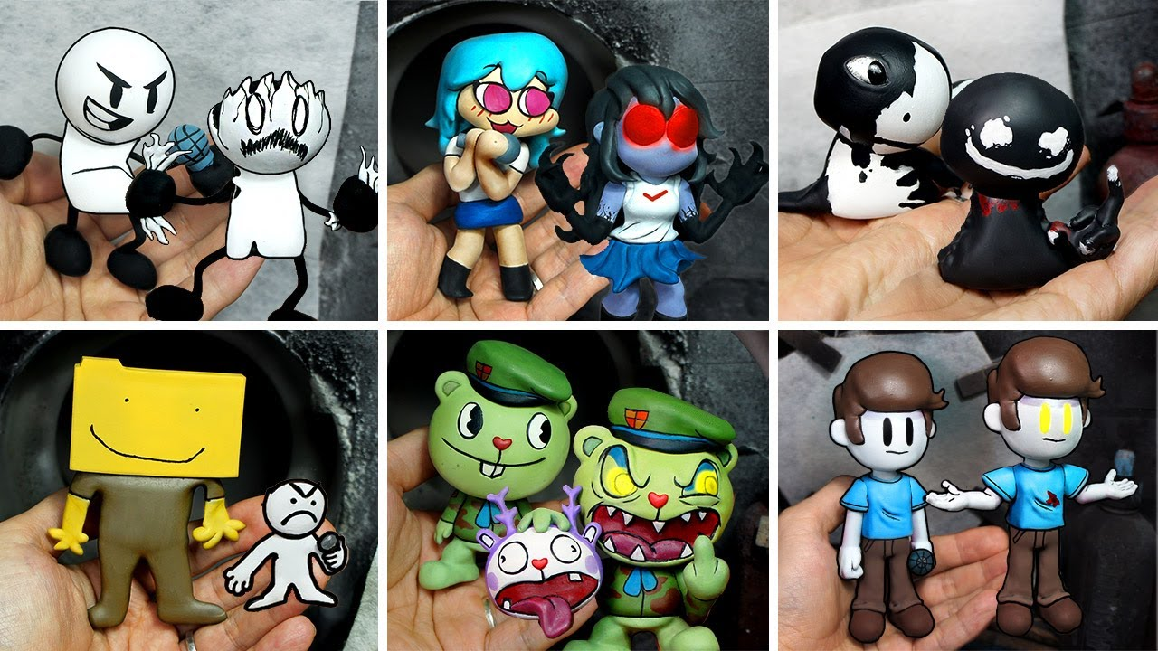 Making Mods Sculptures FRIDAY NIGHT FUNKIN'-4