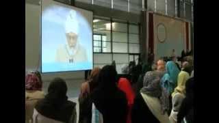 2013-10-10 Die Jahresversammlung Ijtema 2013 der Frauenorganisation Lajna Imaillah