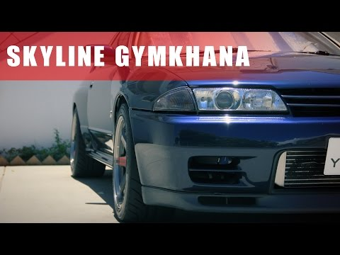 R32 GTR at Gymkhana | My First Gymkhana Event