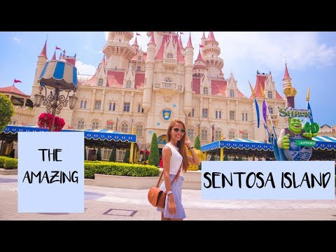 A MUST SEE in Sentosa Island | Singapore Travel vlog