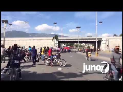 Manifestation 9 juin 2019, Carrefour de l'aéroport, Port-au-Prince Haiti