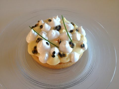 Crostata esotica: cocco, lime e passion fruit! // Exotic tart: coconut, lime and passion fruit!