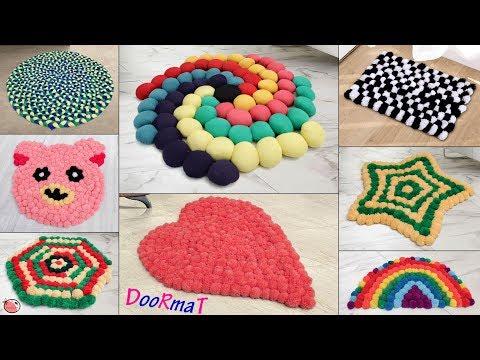 10 Beautiful Doormat Ideas !!! Handmade Things || Best Out of Waste