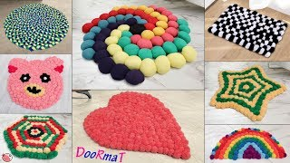 10 Beautiful Doormat Ideas !!! Handmade Things || Best Out of Waste