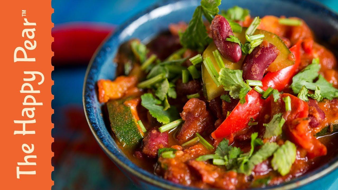 How to make the Ultimate Chili - Vegetarian Chili Recipe - YouTube