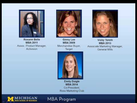 Women in Marketing Webinar - Stephen M. Ross School of Business - University of Michigan