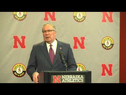 "Bill Moos: ""Nebraska just needs to get back to being Nebraska."""