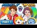 Yo-kai Watch 3 - Part 1: Nate & Jibanyan Move To BBQ! (100% Walkthrough)