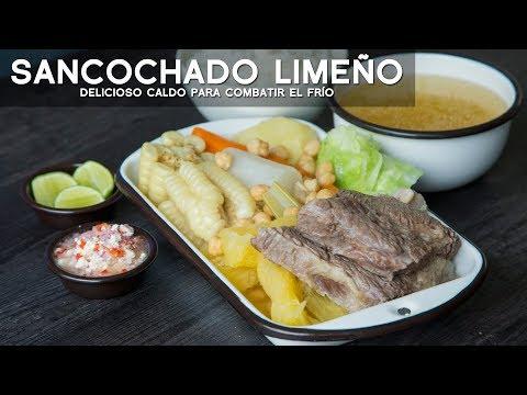 COMO PREPARAR SANCOCHADO FÁCIL Y RÁPIDO - COMIDA PERUANA - ACOMER.PE
