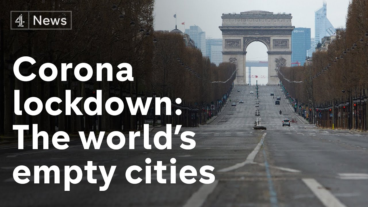 Before and after coronavirus - scenes from the world's biggest cities -  YouTube