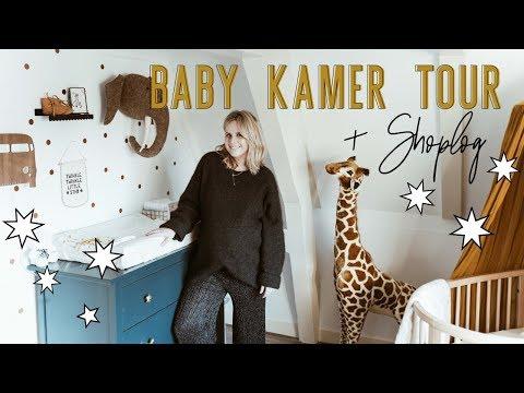 GROTE Babykamer TOUR Van Onze Kleine Boy + SHOPLOG | Billie Rose