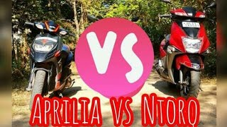 Which One To Buy : Aprilia Sr 150 or Tvs Ntorq 125