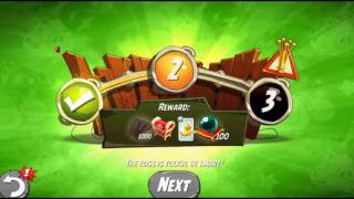 Beat The Daily Challenge King Pig Panic Completed in Angry Birds 2 SATUDAY(1)