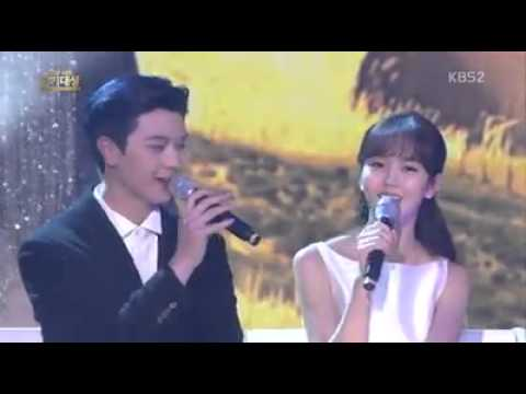 Yook Sung Jae with Kim So Hyun - Love song