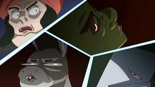 SHREK vs KNİGHTS - Top 10 Anime Kavgalar (Shrek Anlatılır)