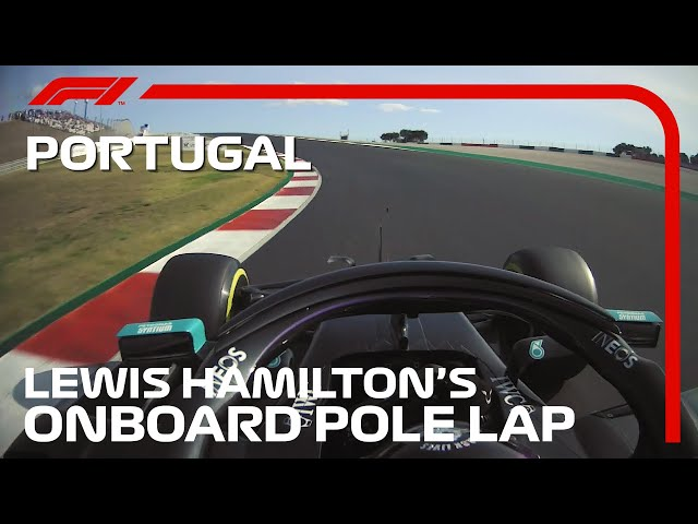 Lewis Hamilton's Pole Lap | 2020 Portuguese Grand Prix | Pirelli