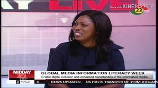 Penplusbytes speaks on Media & Information Literacy Week launch on TV3 Midday News