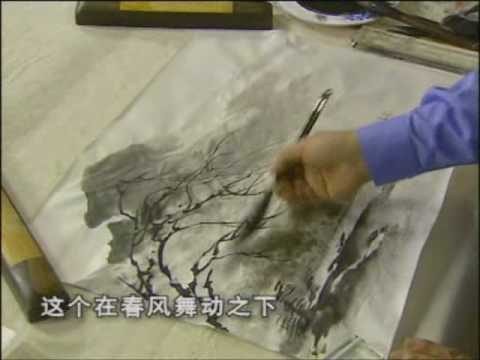 Chinese painting – landscape composition 3/4