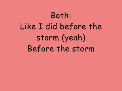 Before The Storm Lyrics