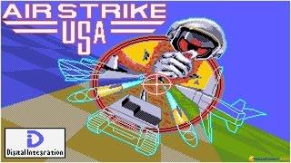 Air Strike USA gameplay (PC Game, 1990)