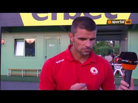 Валентин Илиев: Имам много добри футболисти, сега искам да имам добър отбор